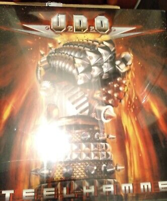 U.D.O. Steelhammer New Sealed Lp Accept