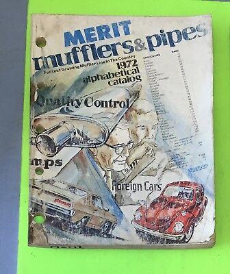 Muffler catalog, Merit, 1972.    Item: 9030a
