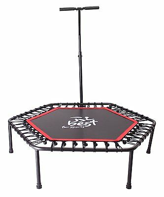 Best For Sports Fitness Trampolin Bungee-Seil-System Ø 110 cm bis 120 kg