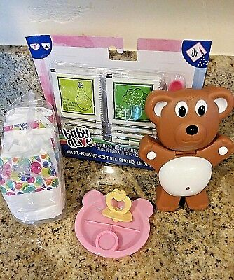 BABY ALIVE FOOD , DIAPERS, PACI, & SNACK HOLDER FOR SWEET SPOONFULS DOLLS for sale  Diamond Springs
