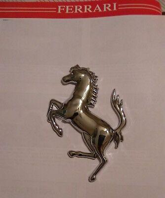 "Ferrari 360 - Rear and front Grill ""CAVALLINO RAMPANTE"" Horse Emblem. Flat back"