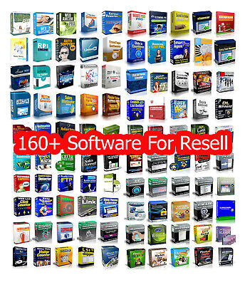 160 Master Resell Rights Software - Make Money Online