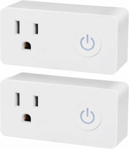 BN-LINK Wi-Fi Smart Plug Outlet Works with Alexa and Google Assistant- One Piece