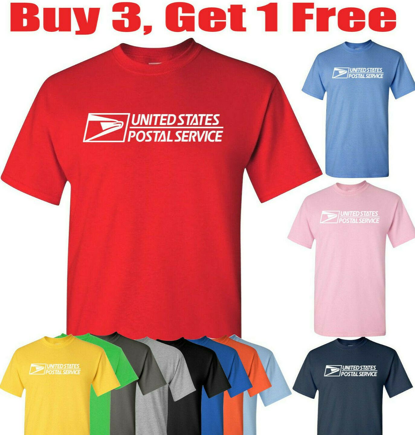 T-Shirt compatible With United States Postal Service usps po