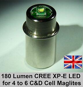 Tts 3wcr90 Maglite Torch Flashlight Cree Xpe Led Bulb