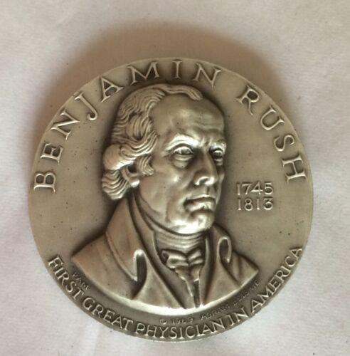 BENJAMIN RUSH Silver Commemorative Coin