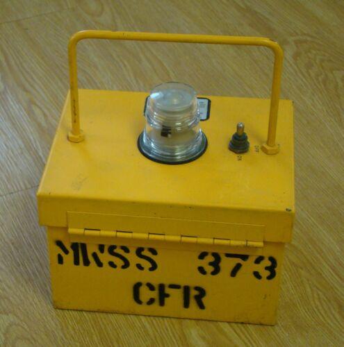 USN USMC Portable Emergency Airfield Marker Light MWSS-373 Miramar NAS MAG-11