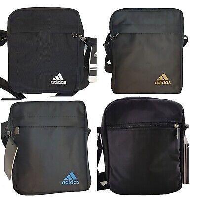 3 Stripes Bars Adidas Logo Adidas Men's Cross body Messenger Shoulder Bag