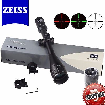 Carl ZEISS 6-24x50AO Illuminated HD Rifle Scope Tactical Scopes Mil-Dot Reticle