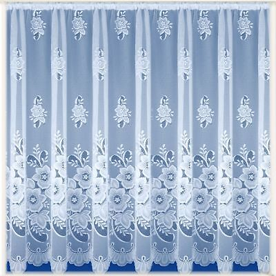 NEW YORK NET CURTAIN, EXCELLENT QUALITY TRADITIONAL DESIGN, SOLD BY THE METRE