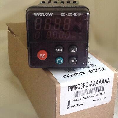 Watlow Temperature Controller Pm6c3fc-aaaaaaa