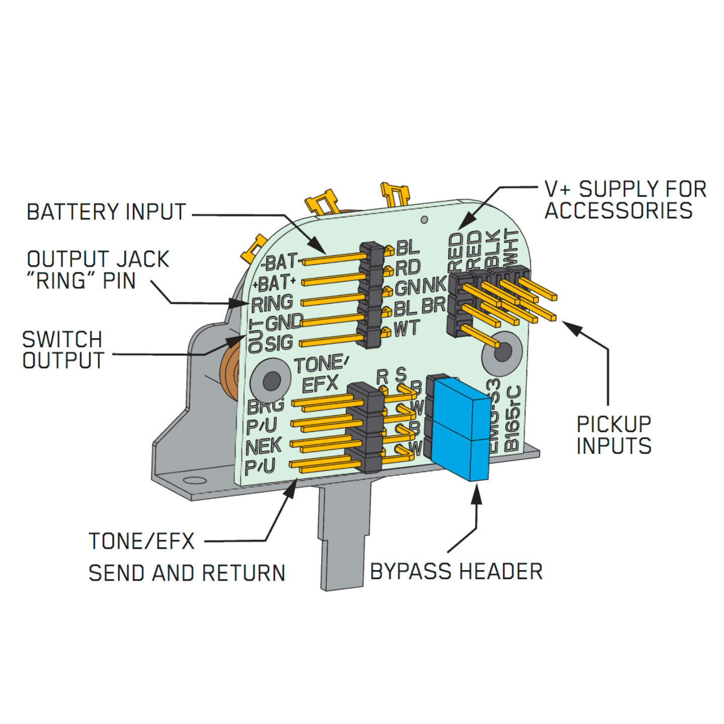 emg wiring diagram solderless strat   35 wiring diagram