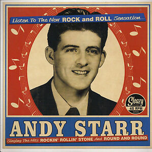Rockabilly-ANDY-STARR-Rockin-039-Rollin-039-Stone-Round-amp-Round-SLEAZY-MGM-CUTS-HEAR