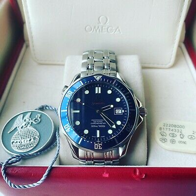 Omega Speed master Professional 300m 22208000 - Serviced in 2019 unworn since!