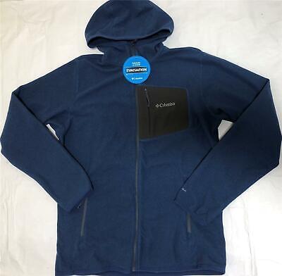 Jacket Carbon (Columbia Men Valley Falls Full Zip Microfleece Jacket S-M-L-XL-XXL Carbon Hooded )