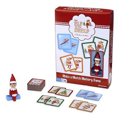 The Elf On The Shelf Make A Match Memory Game