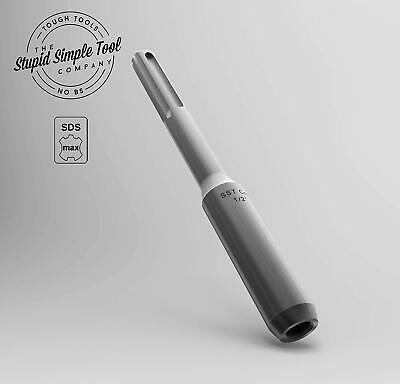 12 0.5 Inch Sds Max Ground Rod Driver Adapter