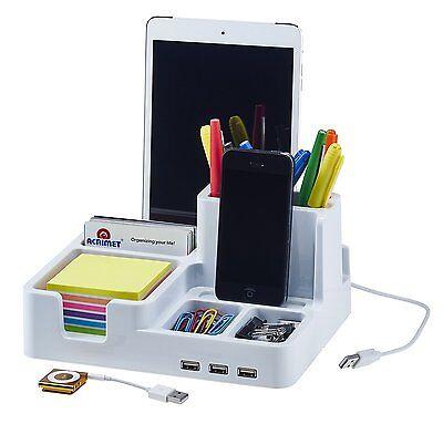 Smart Desk Organizer White Color