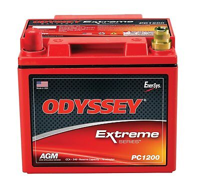 Odyssey PC1200LMJT Automotive and LTV Battery Cold Crank Amp (CCA)- 540