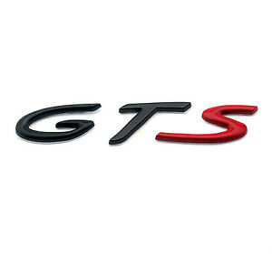 porsche gts car rear boot trunk emblem badge for cayman. Black Bedroom Furniture Sets. Home Design Ideas