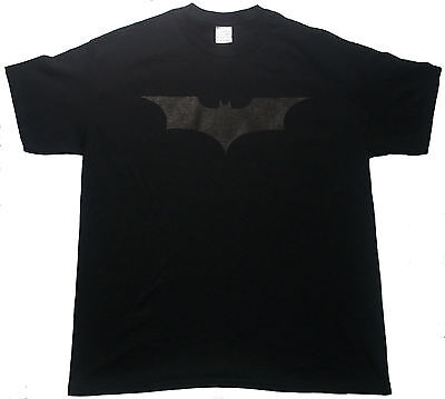 Black On Black Batman Tee T Shirt The Dark Knight Rises