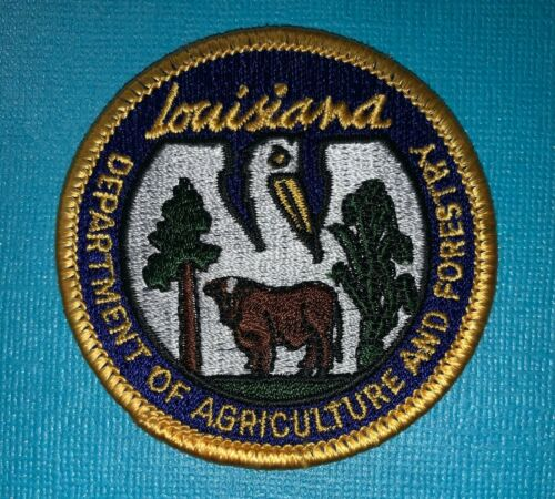 Louisiana Department Of Agriculture And Forestry Uniform DIY Craft Patch 294W