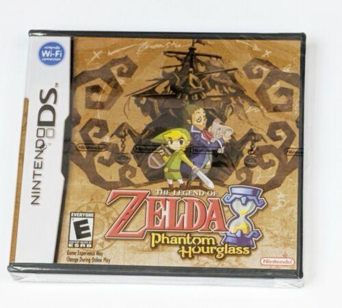 Legend of Zelda Phantom Hourglass - Nintendo DS NDS - Complete *Factory Sealed*