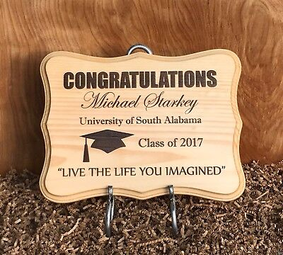 Large Graduation Personalized Wood Sign/Plaque for Graduate. Makes Great Gift