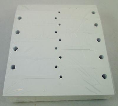 WHITE Self-Locking Arrow Key Tags (1,000 per pack) Size 4 1/2