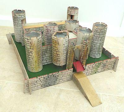 Tri-ang Medieval Castle plus plastic soldiers
