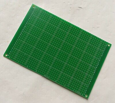 1pc Single Side Fr-4 Pcb Prototyping Perf Board Breadboard Diy 8x12cm 80x120mm
