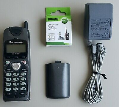 Panasonic Kx-td7680 2.4ghz Wireless Phone With Charger New Battery