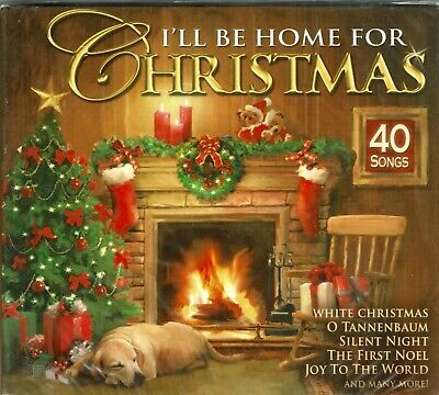 I'll Be Home for Christmas Music 2 CD Set Carols Songs Bing Crosby Clooney Como ()