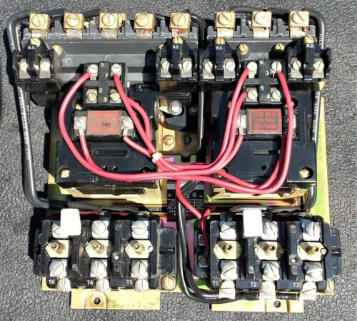 Allen Bradley 715X-BOD Multi-Speed Motor Starter, NEMA Size 1, 120V Coil, 10HP