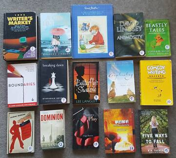 Fiction and Other Books $2.00 each ( Part 3 )