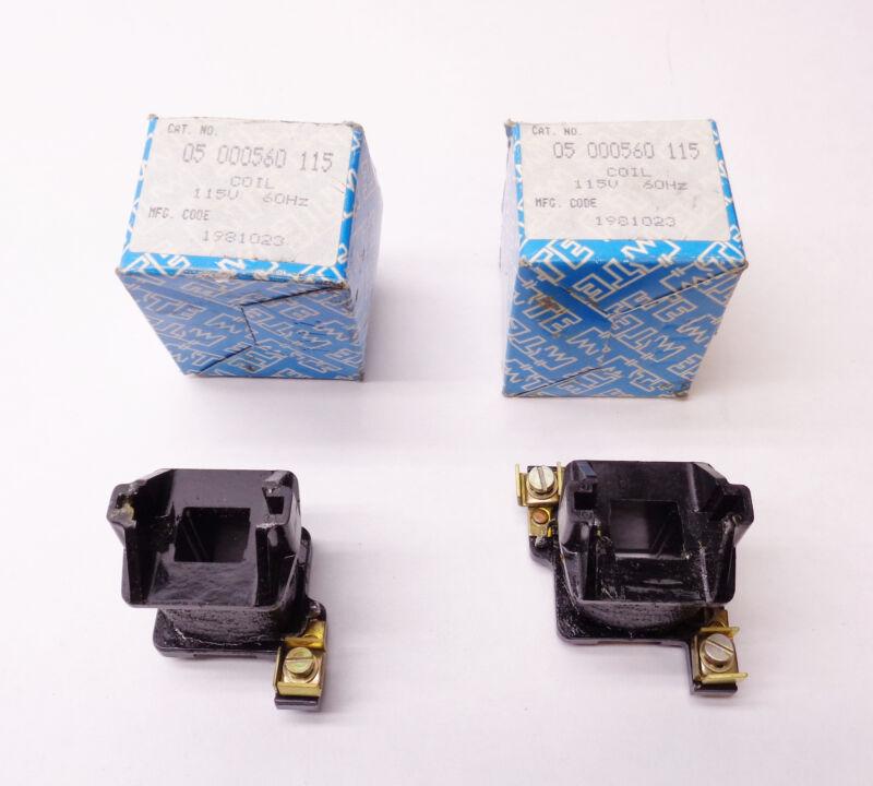 MTE 05 000560 115 COIL 115V *NEW IN BOX*