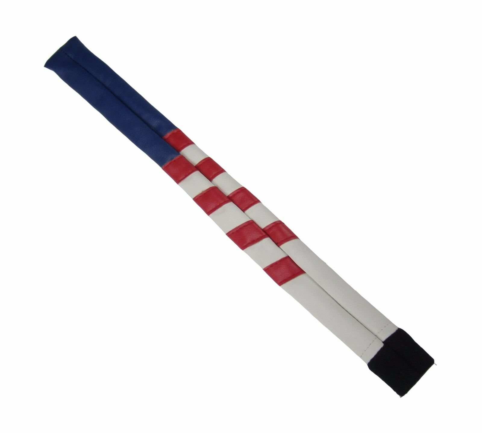 Sunfish hand made leather alignment stick cover USA Liberty American Flag
