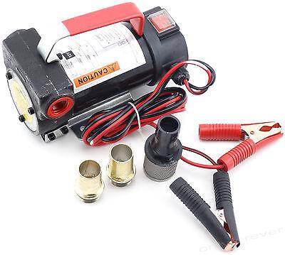 12V Dieselpumpe Heizölpumpe Pumpe Kraftstoffpumpe Ölpumpe Ölabsaugpumpe 2400 l/h