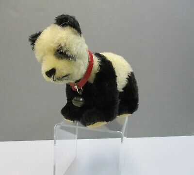 Vintage Steiff Mohair Panda Bear with Jointed Head