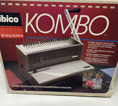Ibico Kombo Commercial Comb Punch Binding Machine