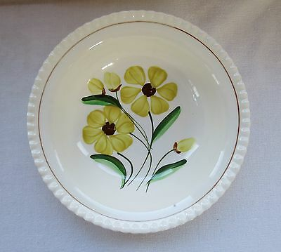 Vintage Blue Ridge Southern Potteries Yellow Sunshine Serving Bowl