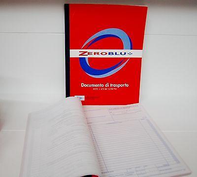 DOCUMENTO DI TRASPORTO  AUTORICALCANTI DUPLICE COPIA  23 x 30