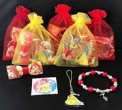 Disney princess themed party/gift/loot bag!!!Four fantastic items per bag! - Princess Party Themes