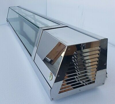 Used Yoshimasa Sushi Display Case Eichi-7r 84 Long Self-contained