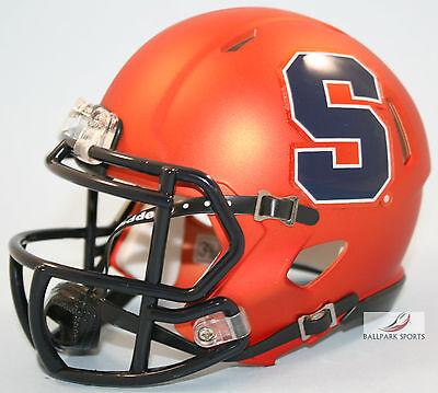 Syracuse Orange  Satin Orange  Riddell Speed Mini Helmet
