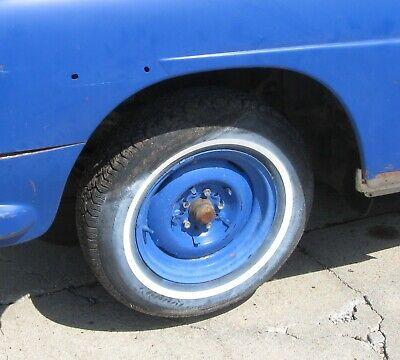 "1948 1949 1950 1951 1952 1953 1954 Hudson 15"" x 5"" Steel Wheel Lug 5 / 4 1/2"""