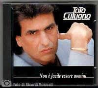 Toto Cutugno - Non E Facile Essere Uomini (nuovo Non Sigillato) 1991 -  - ebay.it