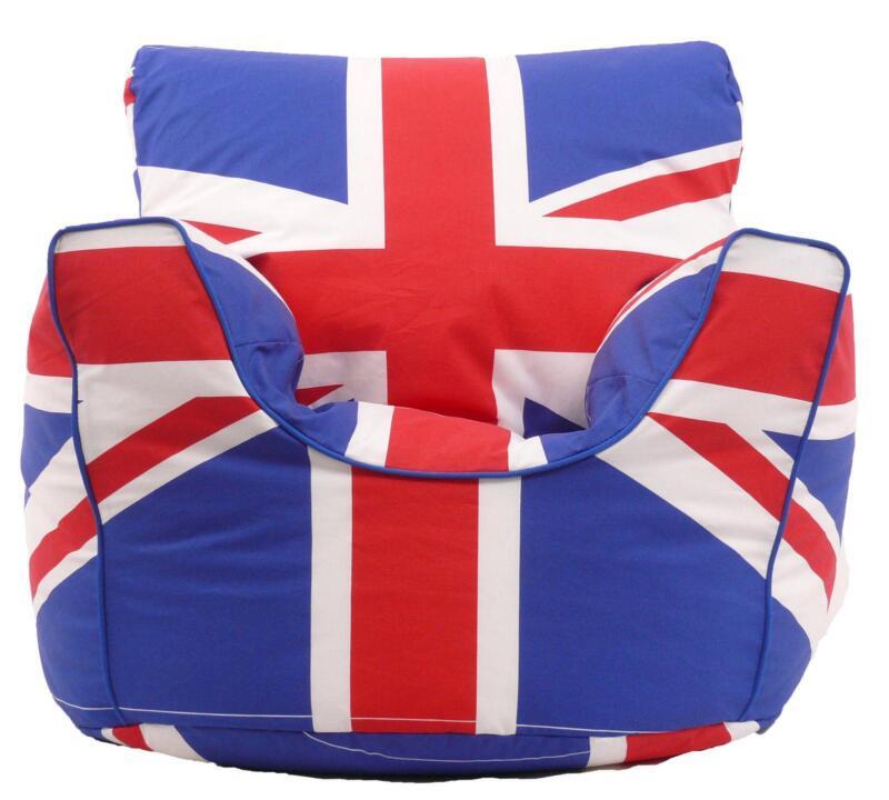 Union Jack Bean Bag Ebay