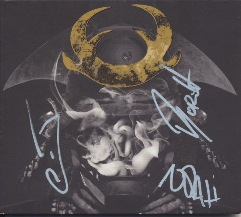 GLITCH MOB SIGNED LOVE DEATH IMMORTALITY CD COVER