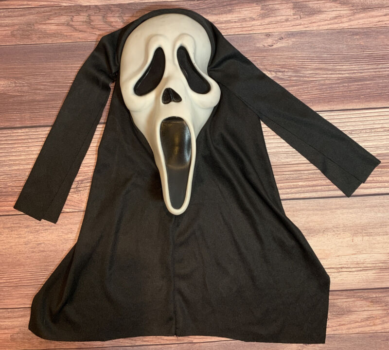 Vintage Scream Ghost Face Mask Easter Unlimited S9206 Glows